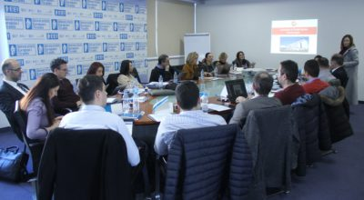 Kick off meeting in Tirana