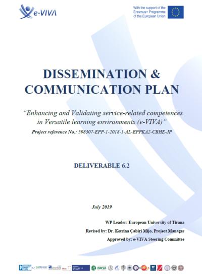 Dissemination & Communicatin Plan_E-Viva