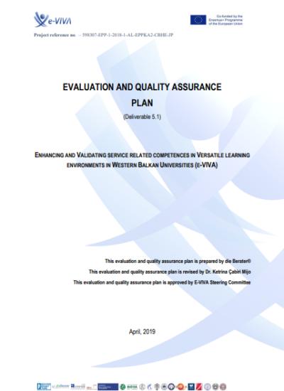 Evaluation & Quality Assurance Plan_ E-Viva